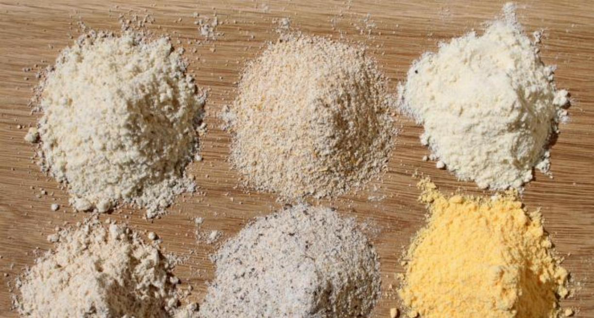 Different Types of Flours