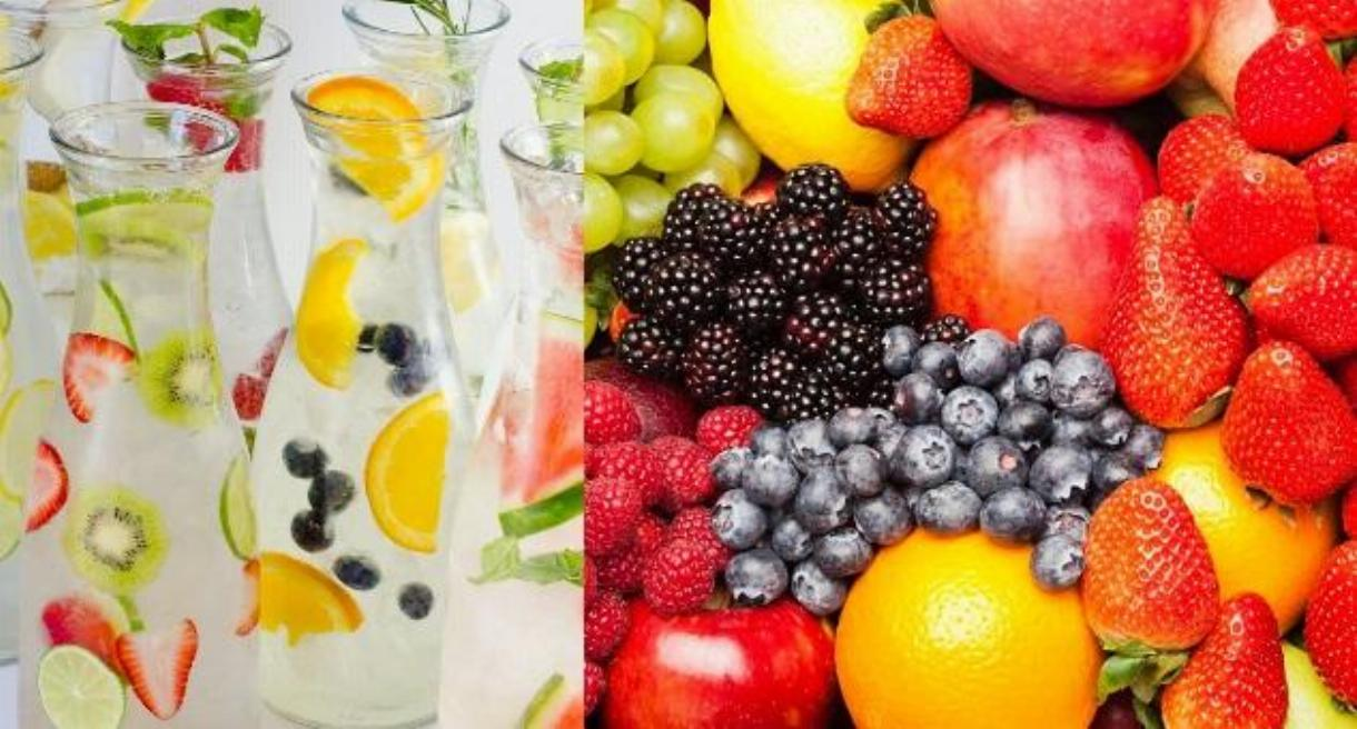 Fruits Infused Water Benefits