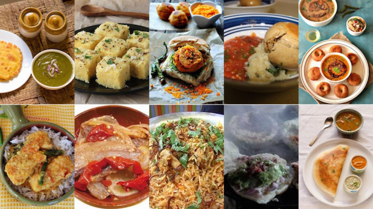 Food and Different Regions of India