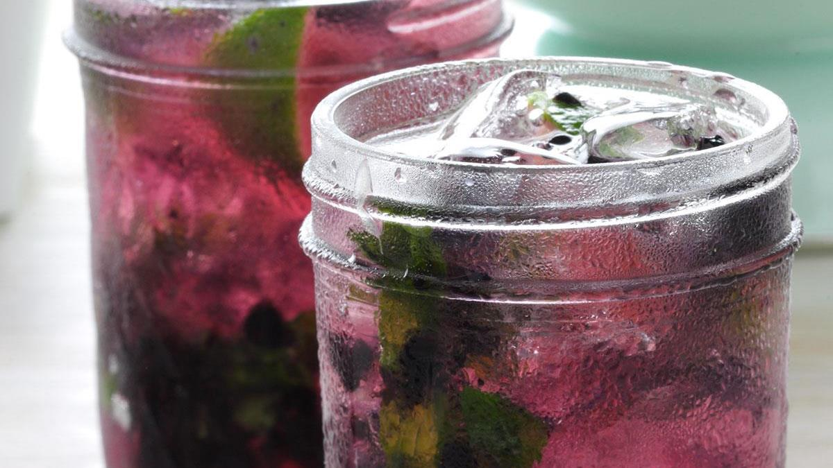 Black Grape Mojito Recipe