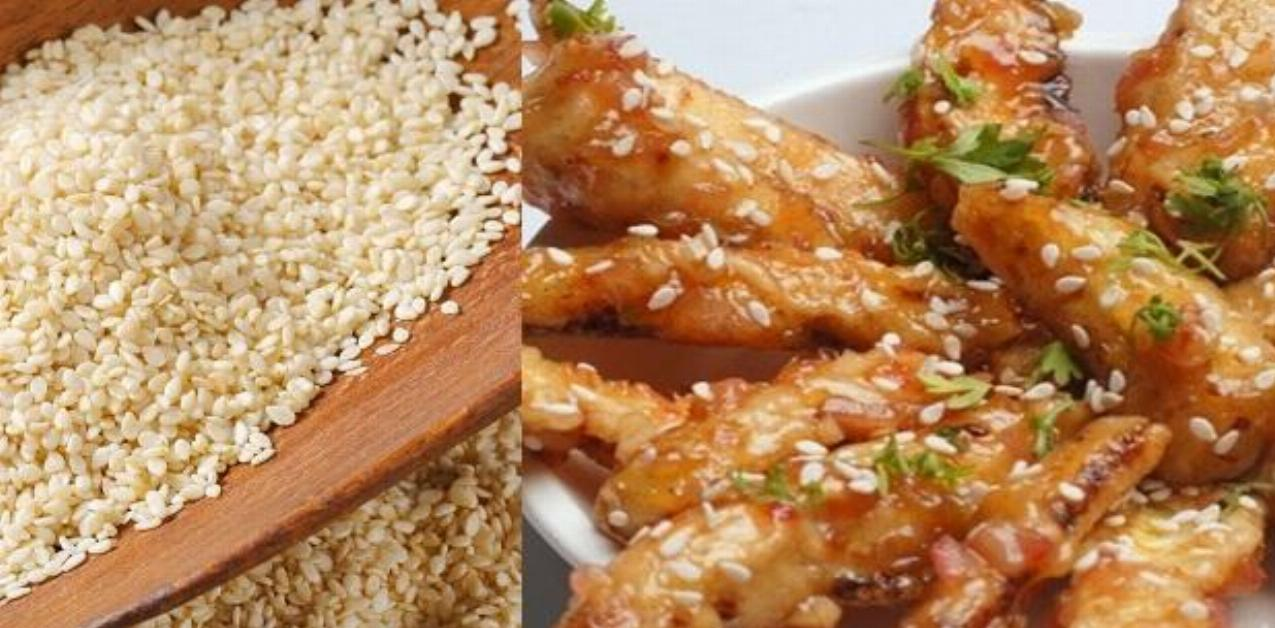 Baby Corn Sesame Recipe