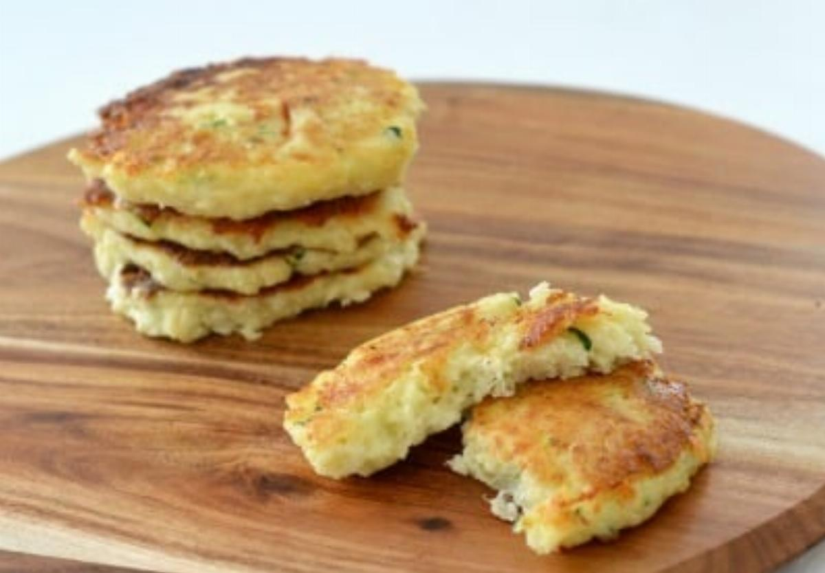 Cheese Baked Fritters Recipe