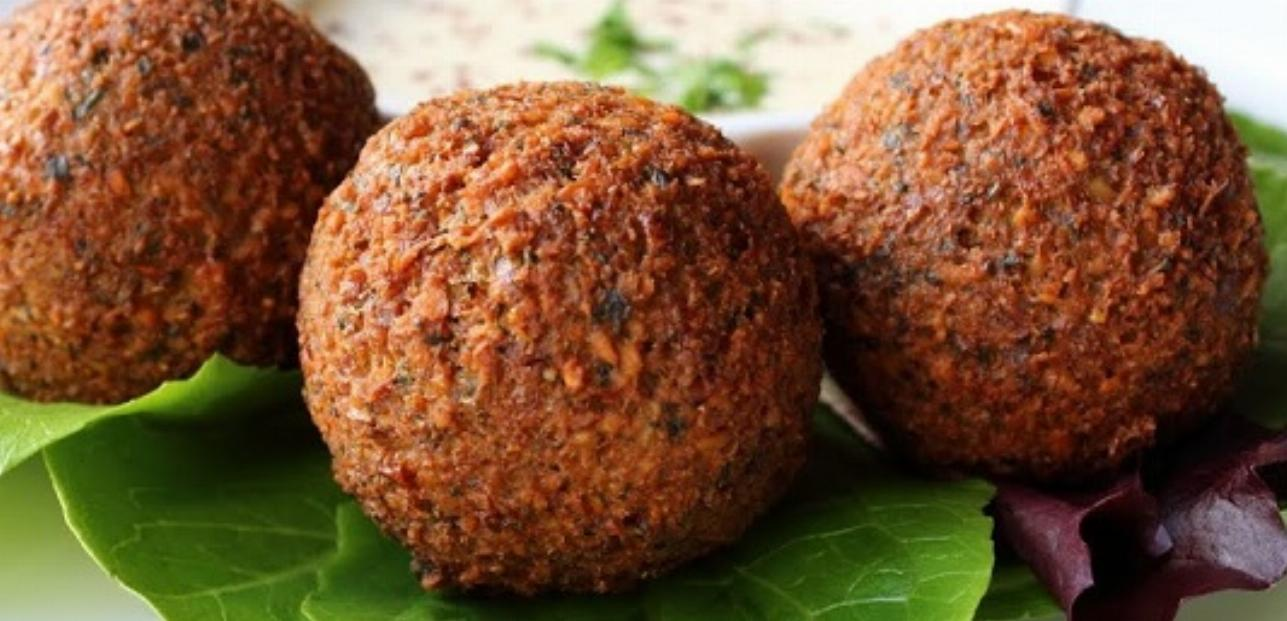 Cheesy Falafel Balls Recipe