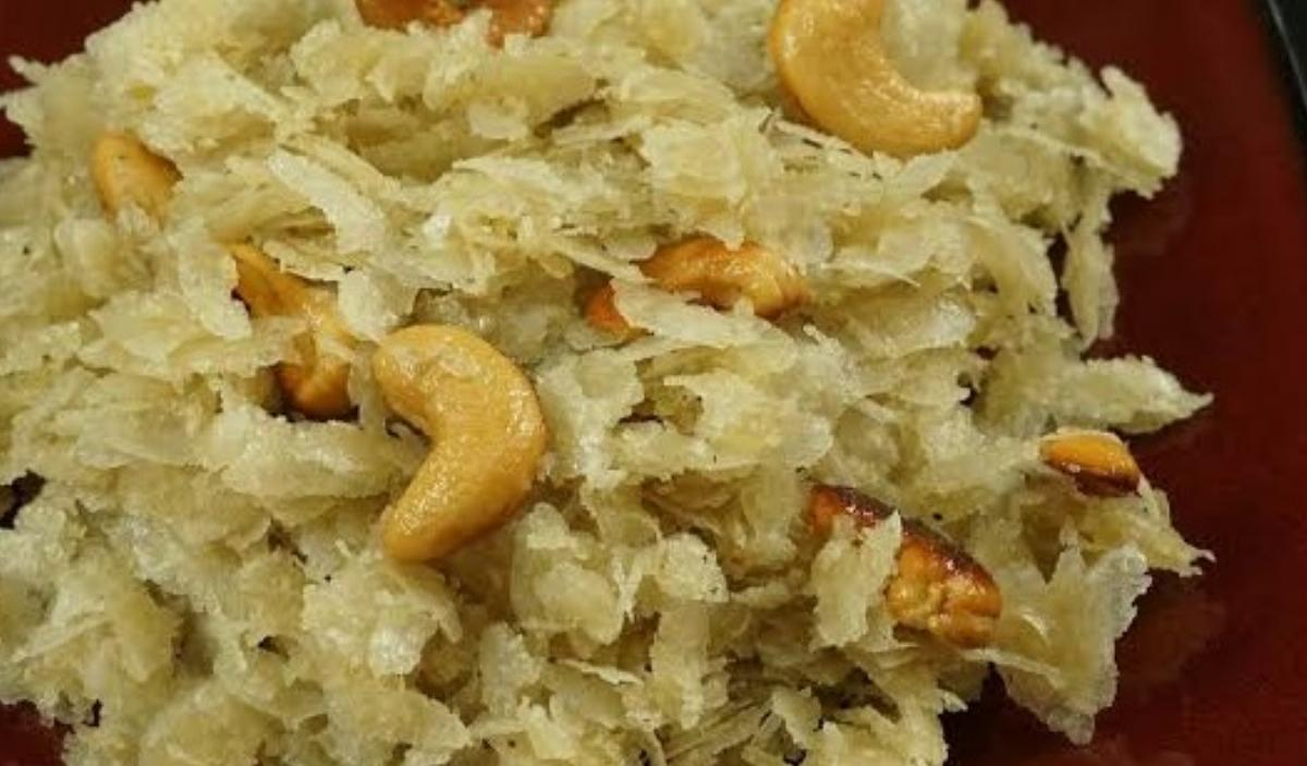 Meetha Poha Recipe