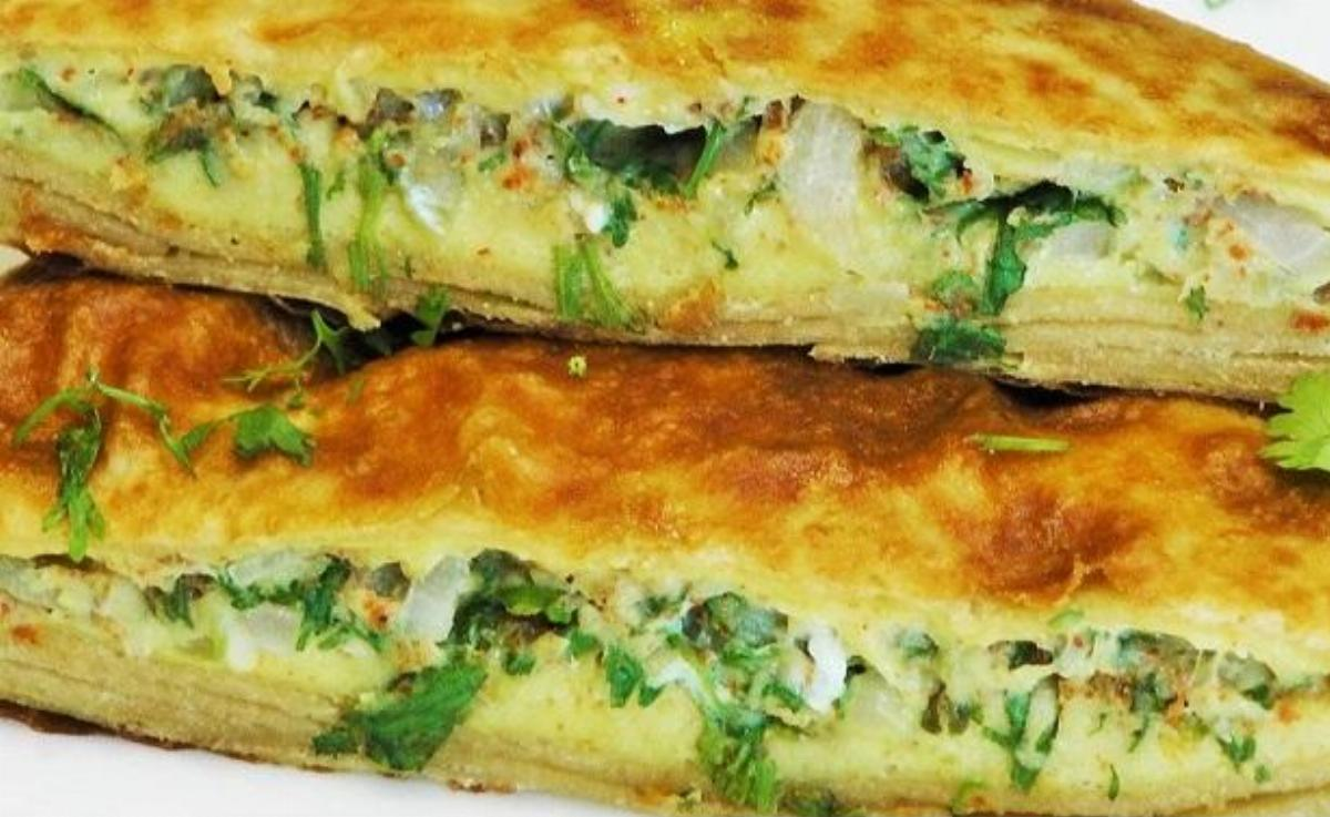Palak Egg Paratha Recipe