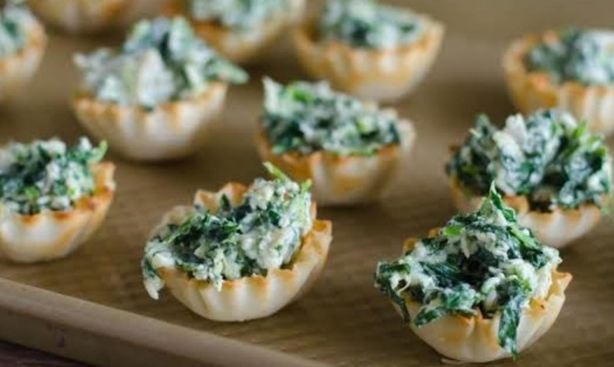 Spinach Cup Recipe