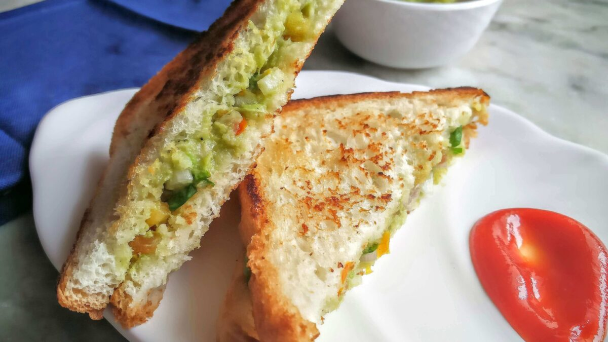 Aloo Masala Toast Recipe