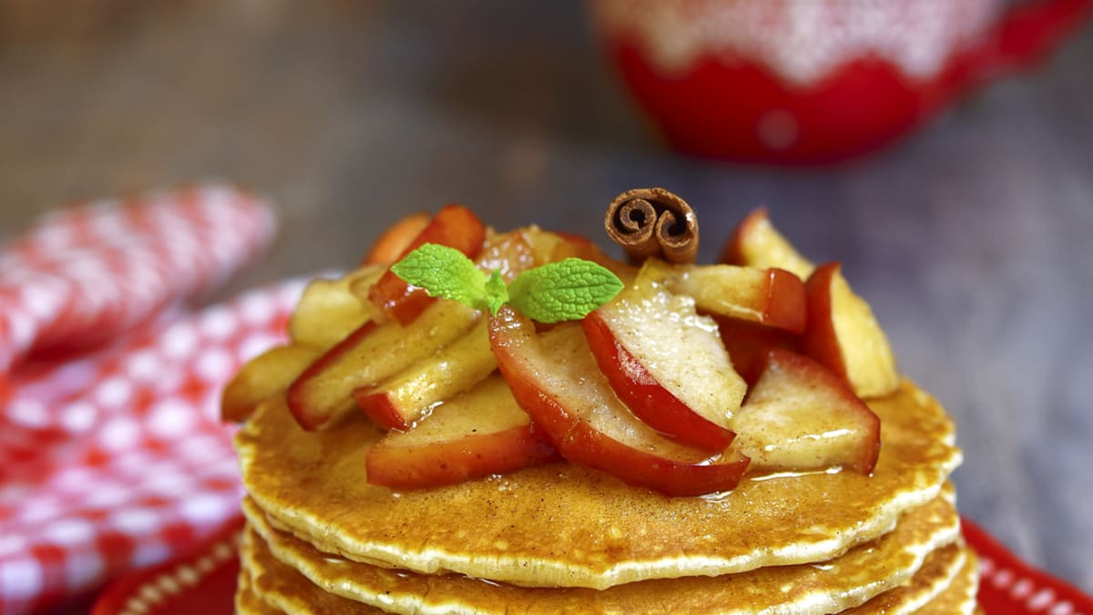Apple Cinnamon Pancake Recipe