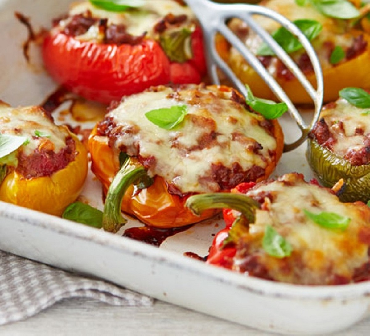 Cheese Stuffed Peppers Recipe