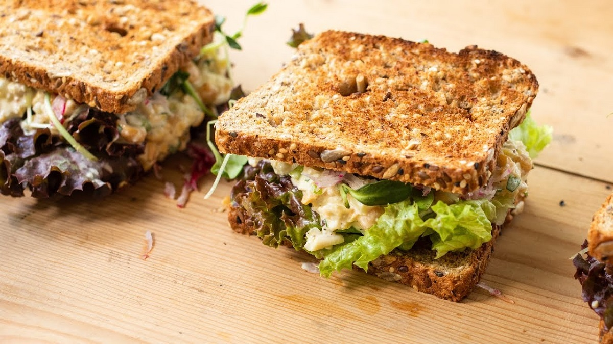 Chickpeas Sandwich Recipe
