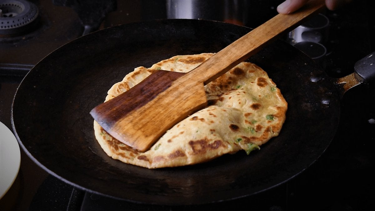Liquid Dough Paratha Recipe