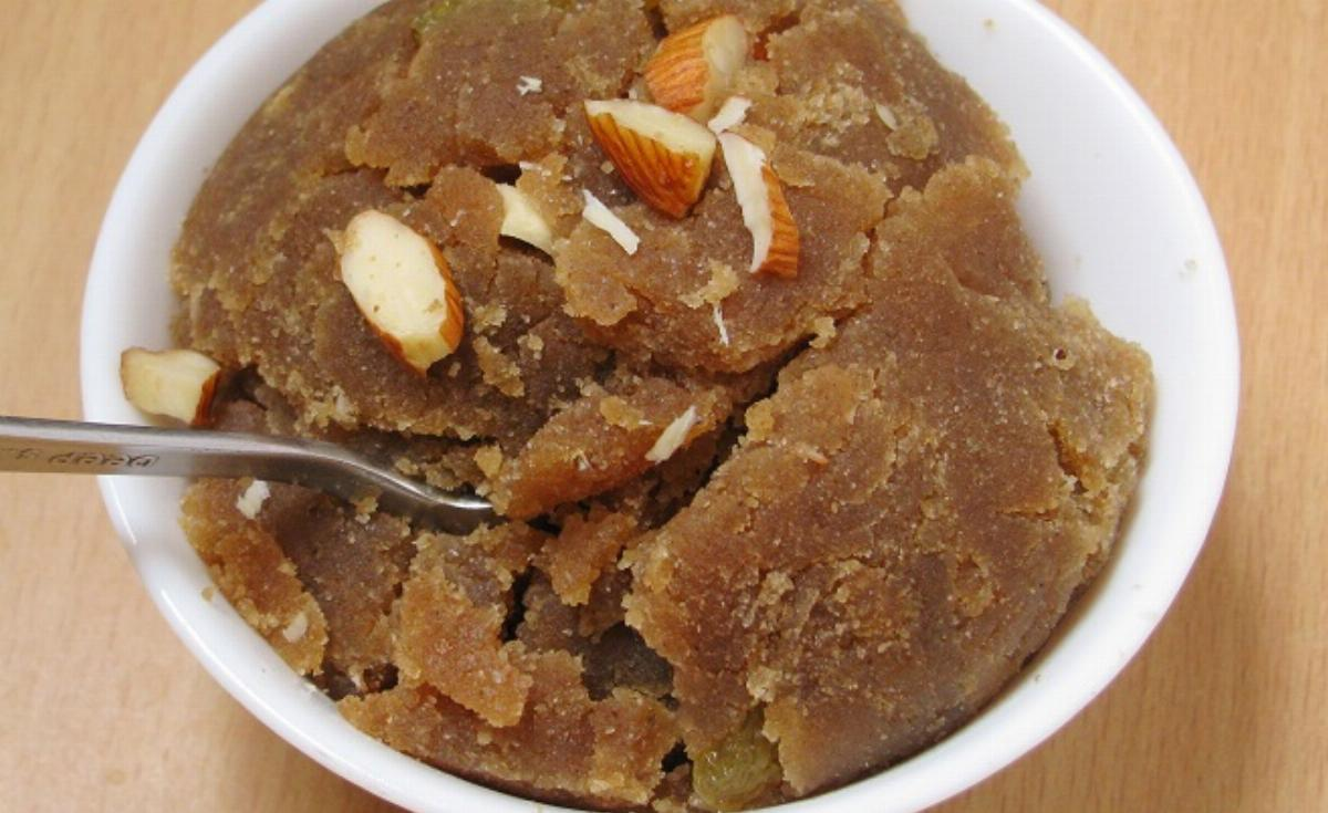 Aata Halwa Recipe
