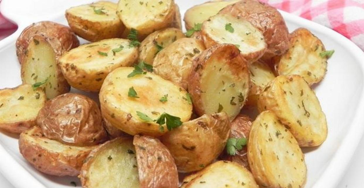 Baked Baby Potatoes Recipe
