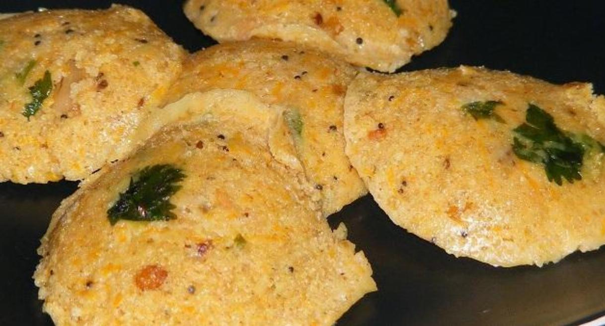 Oats Wheat Rava Idli Recipe