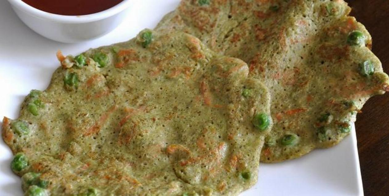 Sprouts Moong Chilla Recipe